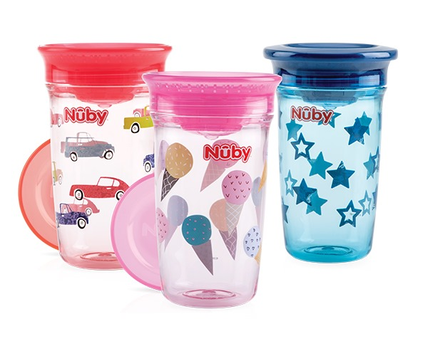 360° Wonder cup made from Tritan™ - 300ml - 6m+ - detail - Nuby™