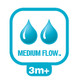 Natural Flew Medium flow speen