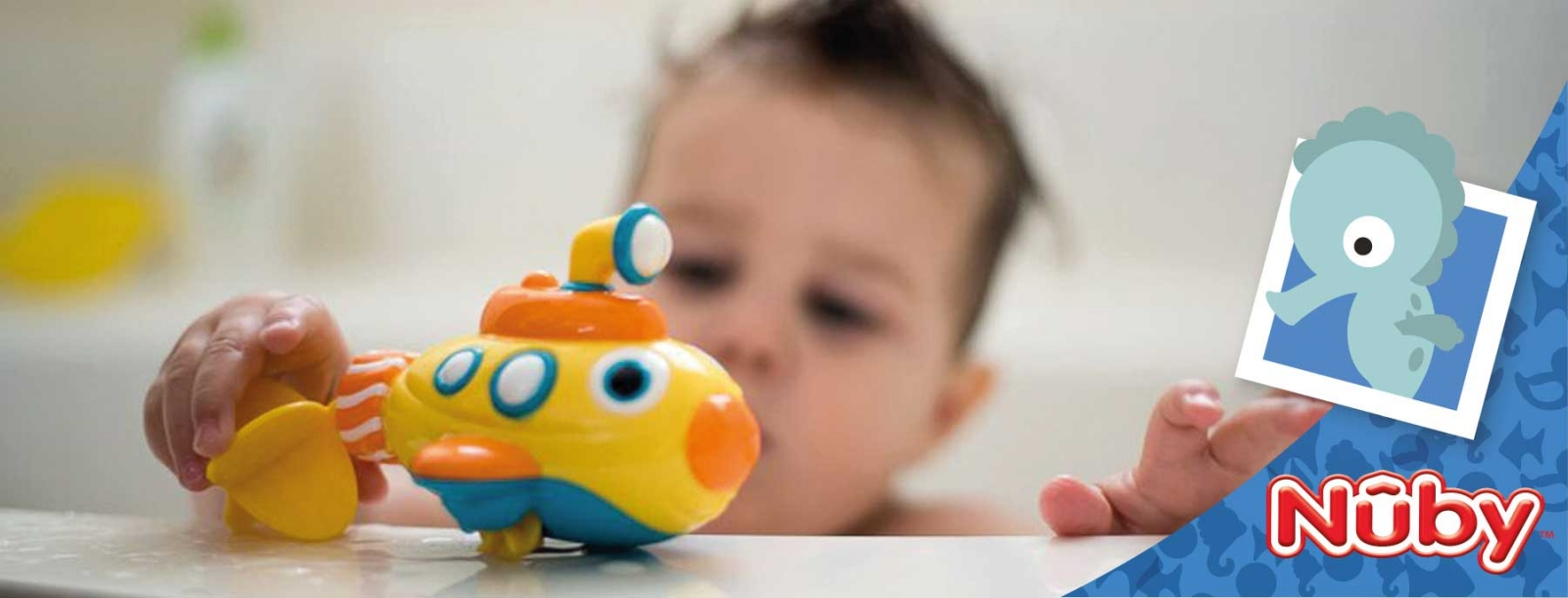 Bath toys for every age - blog - Nuby™